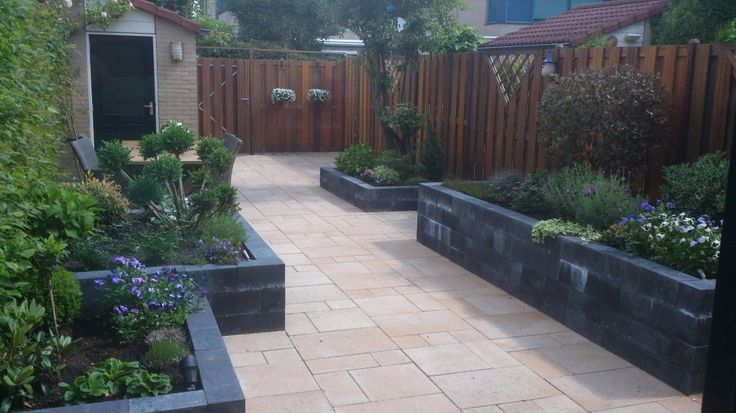 De 36 b sta kleine tuin ideeen bilderna p pinterest - Ideeen buitentuin ...