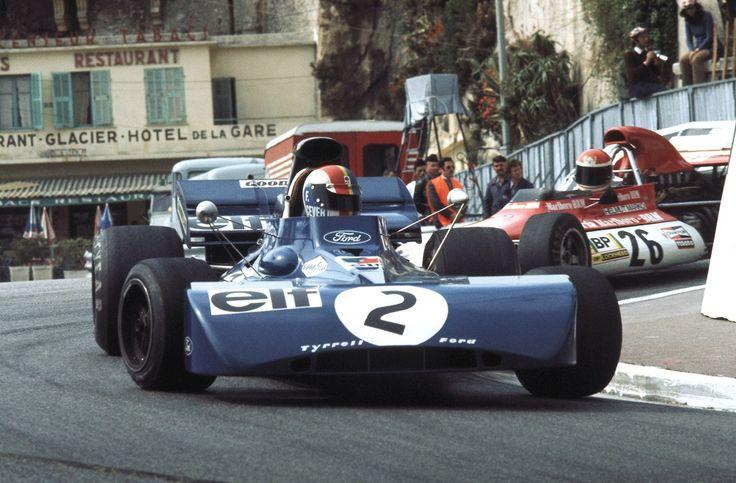 François Cevert (Tyrell) & Helmut Marko (BRM) Grand Prix de Monaco 1972 - Formula 1 HIGH RES photos (Old and New) Facebook
