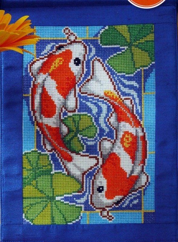 Voici un joli tableau poisson à broder en point de croix Et voici la grille gratuite de c e tableau poisson en point de croix Et voici la grille gratuite de c e sac à main en point de croix Bonne broderie et merci pour vos commentaires qui font toujours...