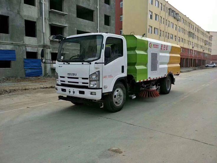 Isuzu road sweeper trucks  Www.trucks.work