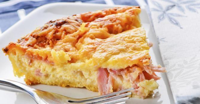 Recette de Quiche lorraine sans pâte. Facile et rapide à réaliser, goûteuse et diététique. Ingrédients, préparation et recettes associées.