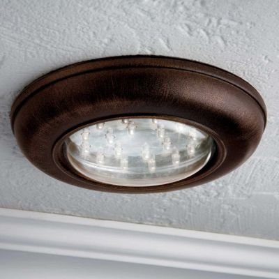(Perfect for our living-room which has no lights!!) Wireless LED Ceiling Light with Remote Control. Light up a room or closet instantly with this battery-operated ceiling light. Designed to install easily on a ceiling or wall, this bronze-finish fixture has 18 bright LEDs that provide excellent accent or ambient light. For brighter light, add more fixtures -- the included white wall-switch remote operates up to 4 Wireless LED Ceiling Lights in a 20-ft. range. $19.99 each!