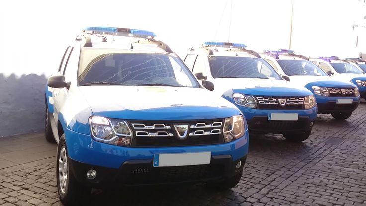 La policía multa a decenas de coches durante el partido del Canarias