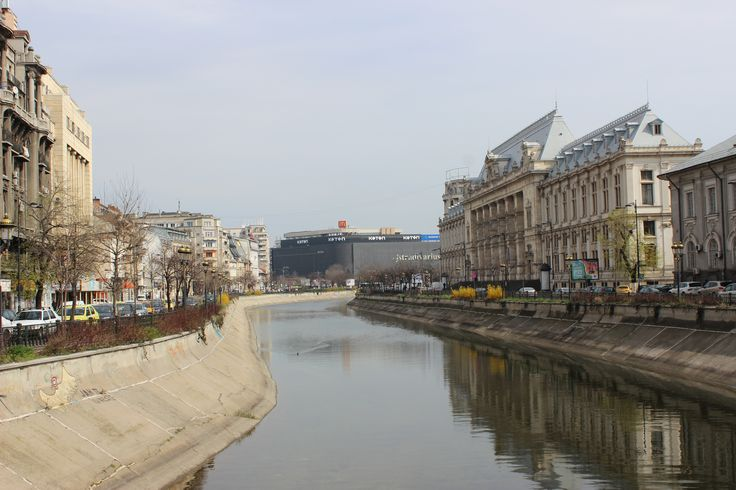 Modern and traditional buildings, Bucharest