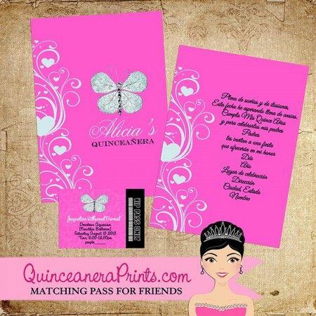 best 25+ sweet 15 invitations ideas on pinterest | quinceanera, Birthday invitations