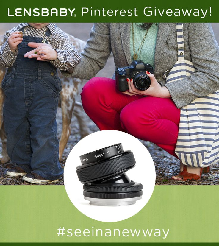 Win a Lensbaby Composer Pro with Sweet 35 Optic! #Lensbaby #seeinanewway   Ends January 26th, 2014