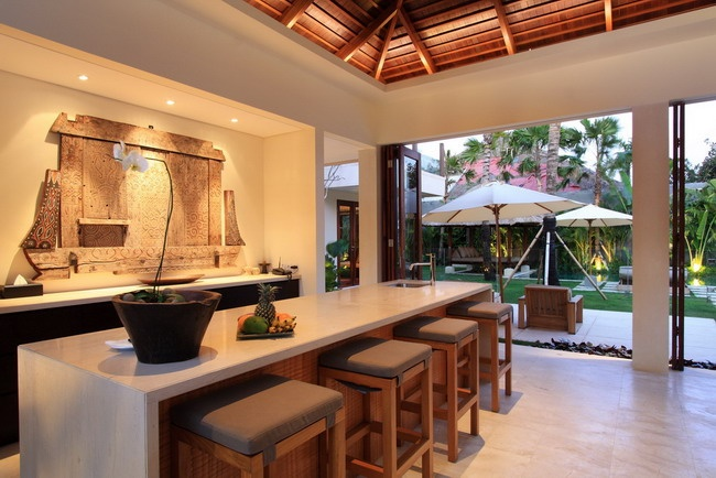 Front Kitchen of Bali Hot Villa :)