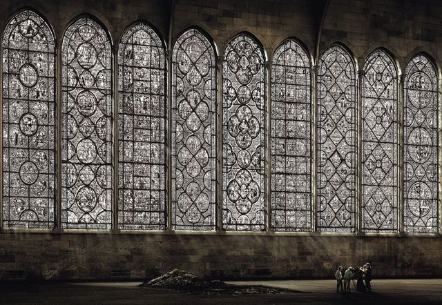 Andreas Gursky . kathedrale I, 2007