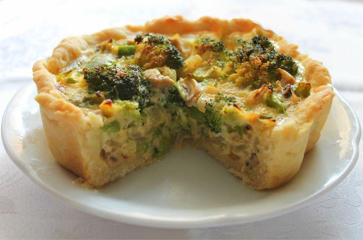 Las Recetas de Maria : Tarta de brócoli