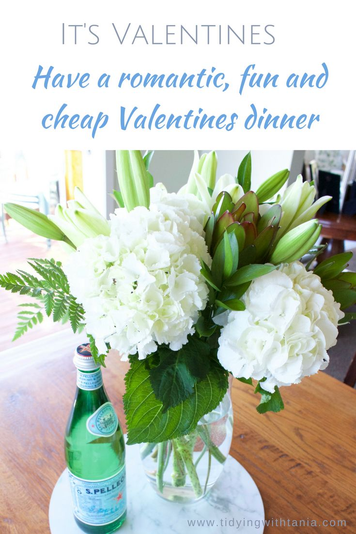 Sharing how to stay at home, cook up a storm and have a wonderful romantic Valentines dinner...without breaking the bank
