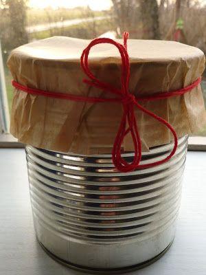 DE GULLE AARDE: blik-cake cadeau (crea-paloppo)