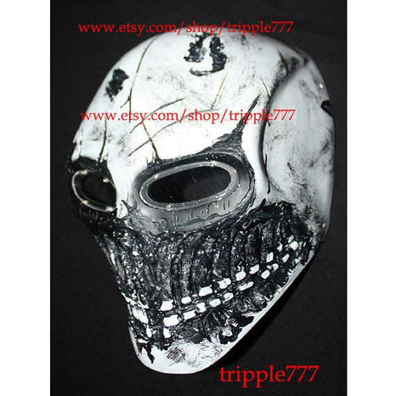 Army of two mask, Paintball airsoft mask, Halloween mask, Steampunk mask, Halloween costume & Cosplay mask, white MA168 et
