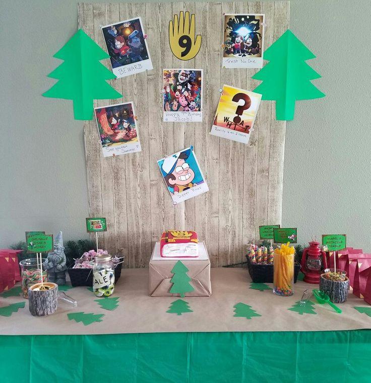 Gravity Falls birthday party