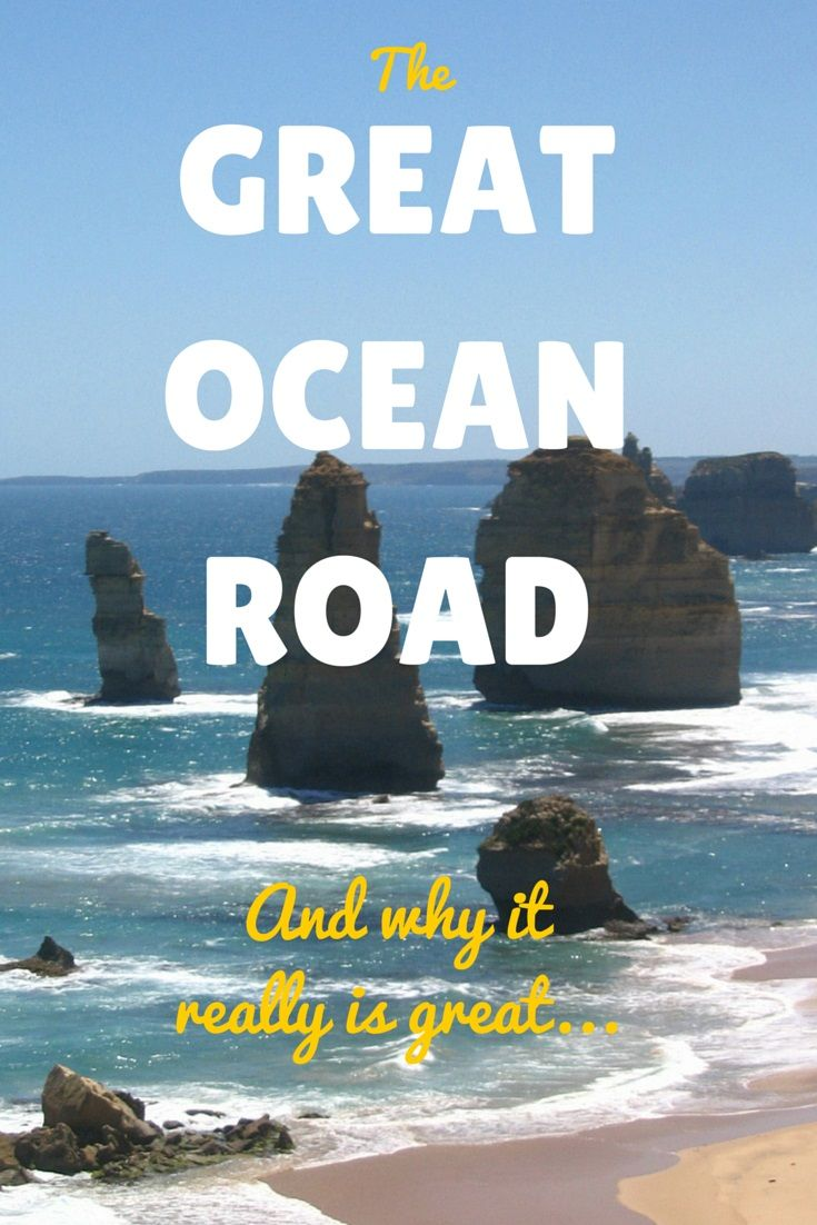 Why The Great Ocean Road Really Is Great. One of Australia's best drives. Read more: http://www.thelostlemurian.com/2015/04/why-the-great-ocean-road-really-is-great/