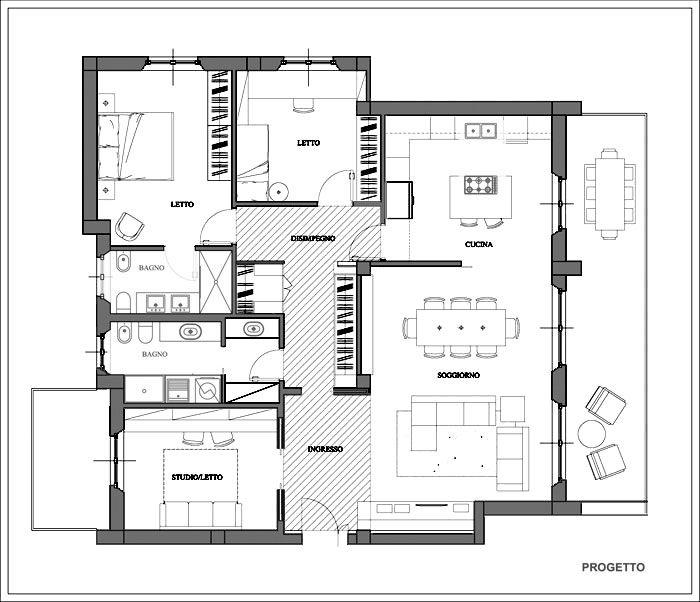 Idee Planimetria Casa Planimetria Casa Planimetrie Dell Appartamento Planimetrie