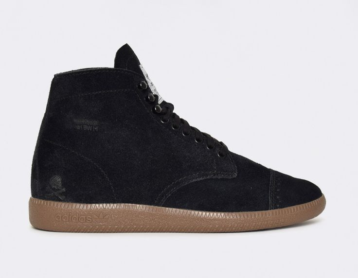 #adidas BW Hi #Neighborhood Black #sneakers