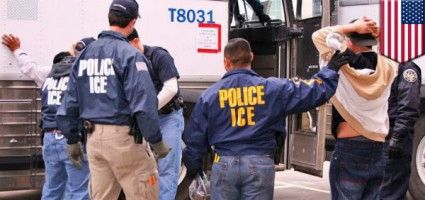 Illegals Hold Protest To 'Trump' Deportation, Immediately Arrested By Federal ICE Officers