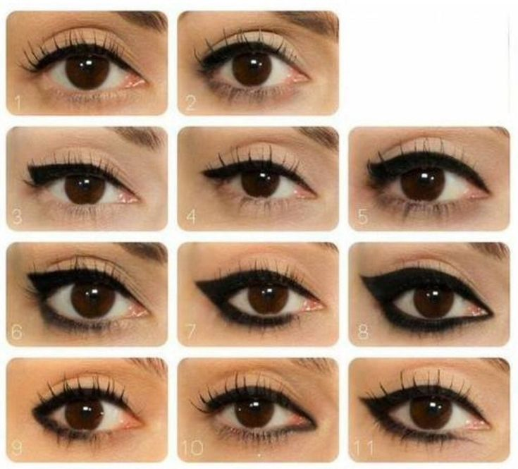 Different Eyeliner Designs    Look at these cool eyeliner. Which ones do you love the most? Tell me in the comments.