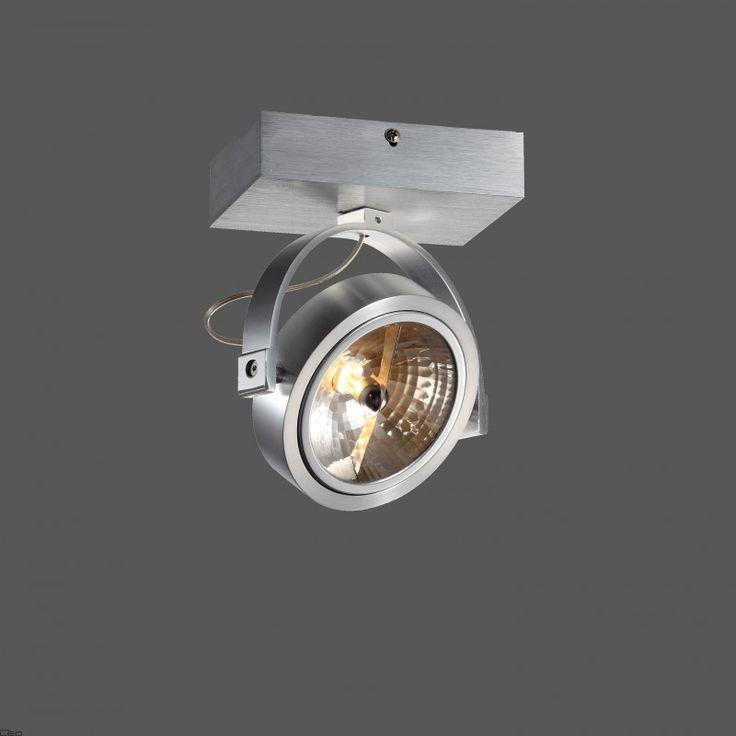 Reflektor ELKIM LIRIO 128/1 alu, biały, czarny