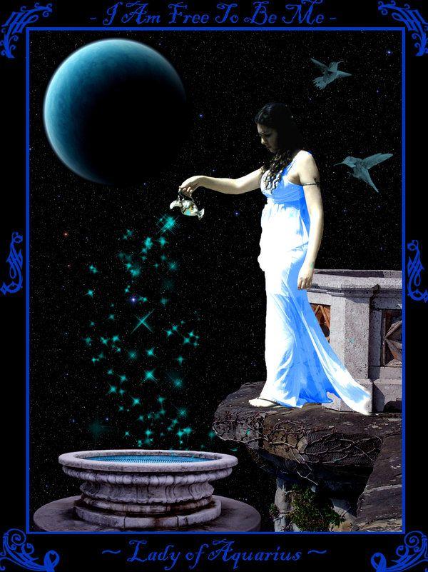 Lady of Aquarius by vision-of-shadows | Aquarius - The ...