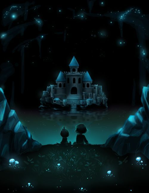 undertale wallpaper waterfall Google Search All things