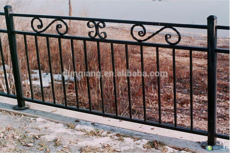 wrought iron fence panels cheap price