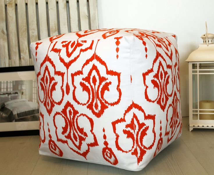 Barine Home  İkat Puf  -  Mercan : 99,90 TL   evmanya.com