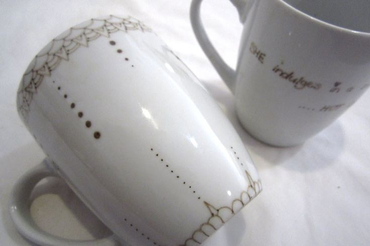 DIY Sharpie Mugs (and why they often FAIL!) Tutorial with tips on making the sharpie mugs work