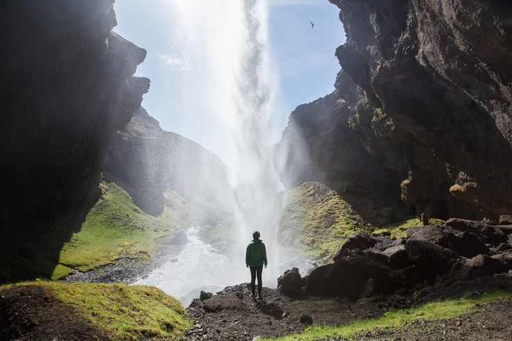 Begin by driving to the Skogar Museum, just off the Ring Road (1). You will take the same turn to get here as you would to get to Skogafoss, so it makes sense to plan to see both at the same time.