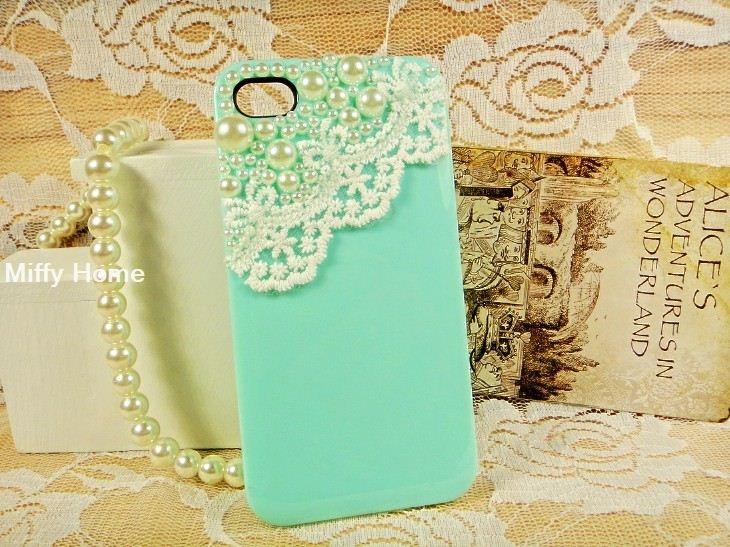 iPhone 4 case, iPhone 4s case, iPhone case, iphone cover ,iphone 4 cover,  case for iPhone 4/iphone 4S: Iphone Cases, Pearl, Iphone 4S, Lace, Iphone 4 Cases, Iphone Cover