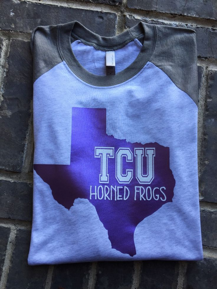 Free Shipping!! TCU Horned Frogs Raglan University Shirt/ Womens College Shirts / College Shirts / Graduate Gift / Texas College Shirt by SOUTHERNROOTSCOMP on Etsy