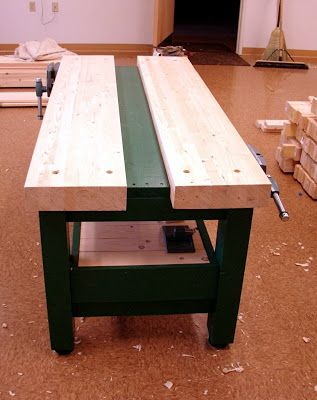 Danu0027s Shop: New Workbench For School Shop