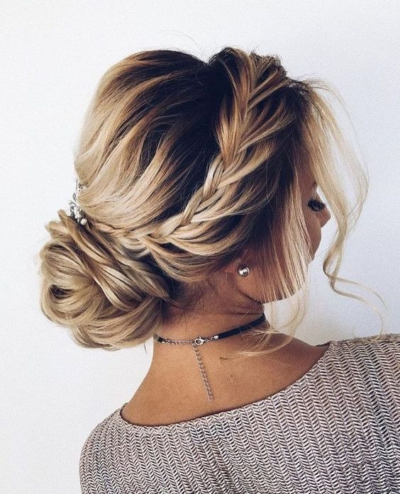#Updo #WeddingUpdo #CurlyUpdo Fancy Hair Updos Casual Hair