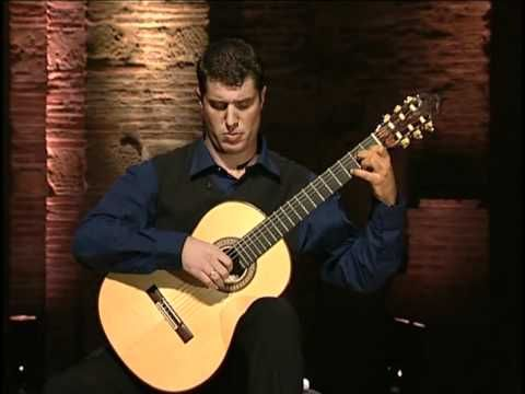 Francisco Tarrega - Recuerdos de la Alhambra (Emmanuel Rossfelder)  I love, love, love this piece of music.  Not only is it beautiful, it's hugely sentimental for me.
