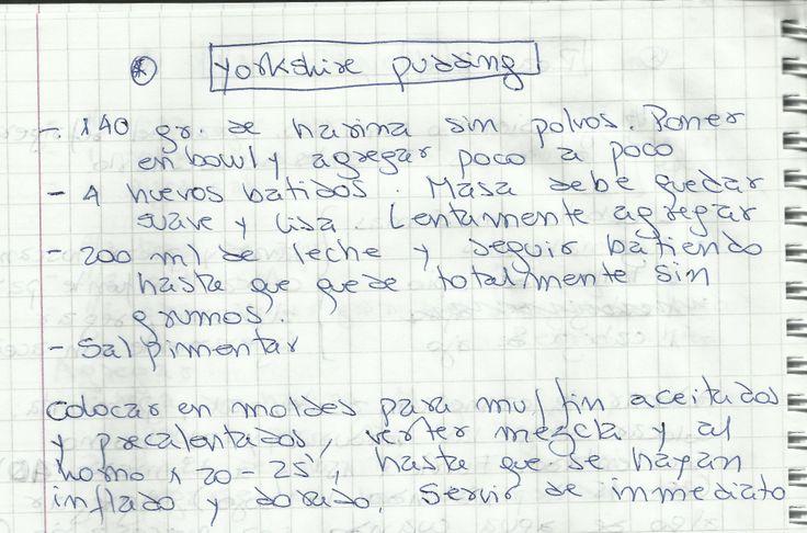YORKSHIRE PUDDING   #SALADO #PLATOS #ACOMPAÑAMIENTO #HARINA