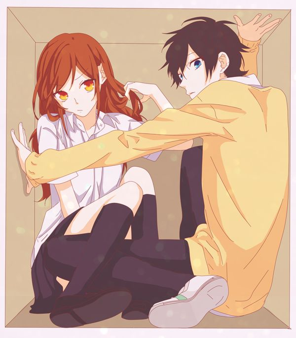 Ahh~ There really is no colored art of long-haired Miyamura... It's saddening, but he IS cuter with shorter hair...