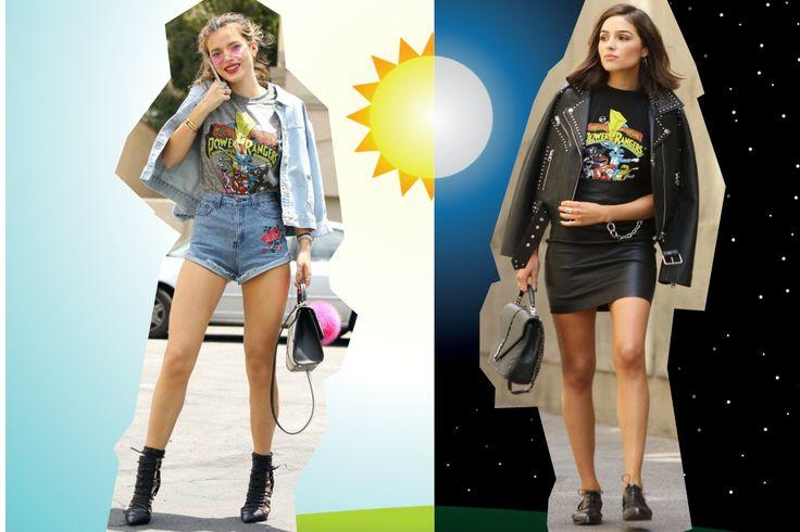 Bella Thorne vs. Olivia Culpo: eres una Power Ranger de día o de noche?
