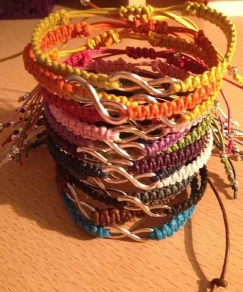 Infinity Makramee Bracelet