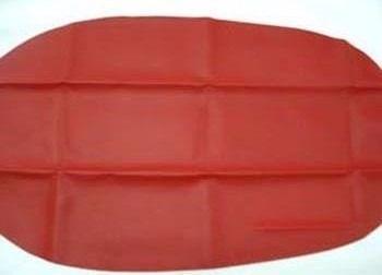 capa de banco honda pop 100 vermelha 2007 à 2015