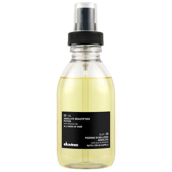 Η φόρμουλα του ΟΙ/OIL εμπλουτισμένη με έλαιο Roucou, σχεδιάστηκε για να δώσει εξαιρετική απαλότητα και λάμψη στα μαλλιά, εξασφαλίζοντας αποτελεσματική δράση κατά του φριζαρίσματος. Προστατεύει και σέβεται τη δομή των μαλλιών, χωρίς να τα βαραίνει. Έχει ισχυρή αντί-οξειδωτική δράση κατά των ελεύθερων ριζών. www.hairsecrets.gr