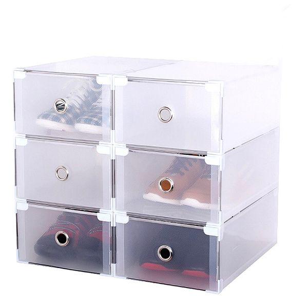 Acrylic Box Tutorial : Ideas about shoe box organizer on