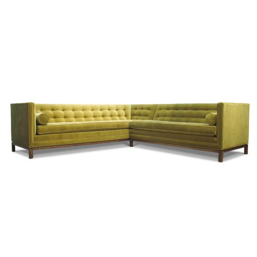 How awesome is this Jonathan Adler sectional?