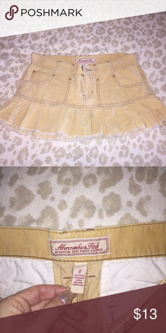 Abercrombie and Fitch skirt Cute cute Abercrombie & Fitch Skirts Mini
