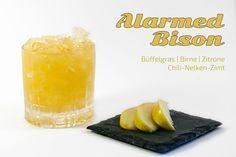 Alarmed Bison – der Büffelgras-Wodka-Cocktail aus der Berliner Rivabar