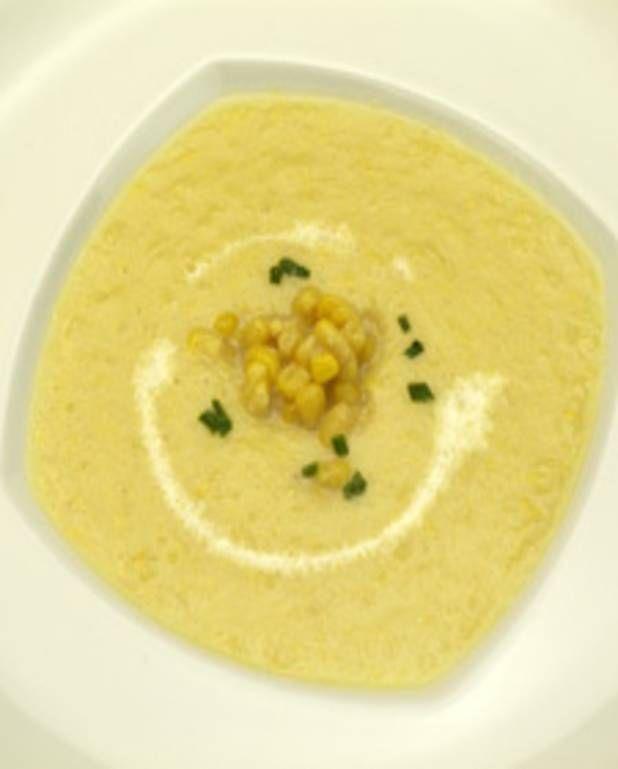 Chaudrée de chou-fleur et maïs pour 6 personnes - Recettes Elle à Table