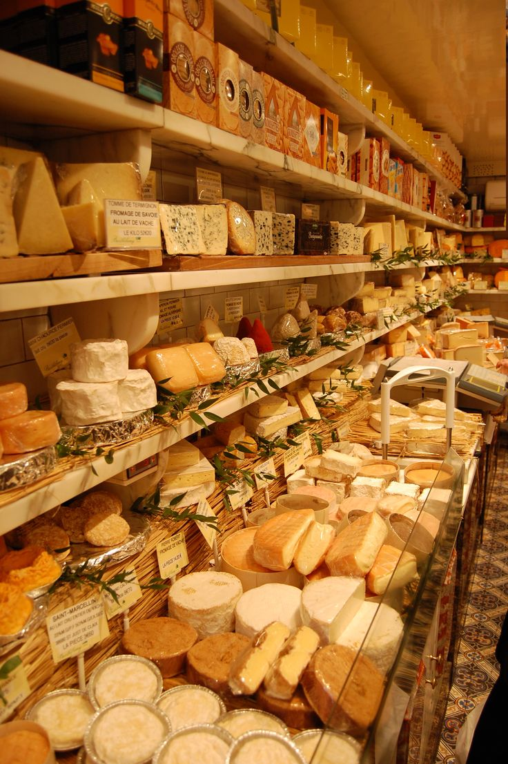 Berthelemy cheese store, Paris