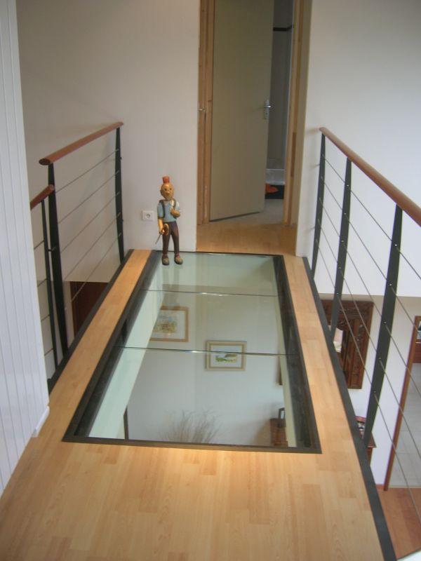Dalle De Bois Pour Sol Interieur : Passerelle bois & verre Inspiration(s) maison Pinterest