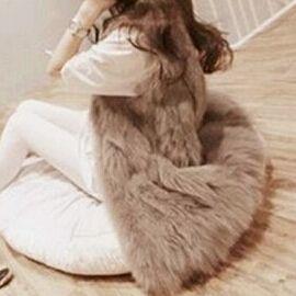 2014 outono inverno peles artificiais colete colete de pelé falso jaqueta de inverno casacos femininos mulheres plus size casaco wwc047 fret...