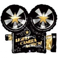 Lights Camera Action! Foil Balloon $22.95 (Inflated) H85373