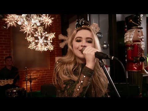 "Sabrina Carpenter ""Christmas The Whole Year Round"" (Live at Radio Disney..."